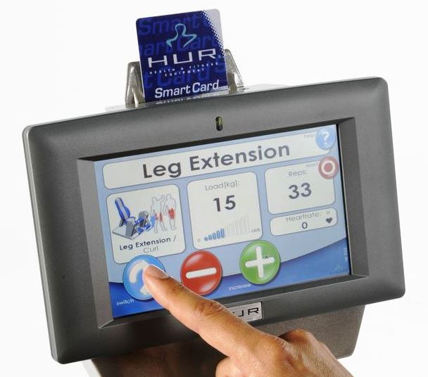 smartcard display touch screen hur