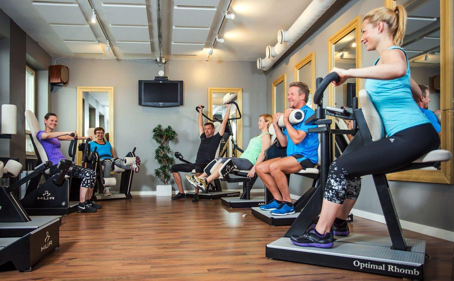 siłownia wellness dla seniorów